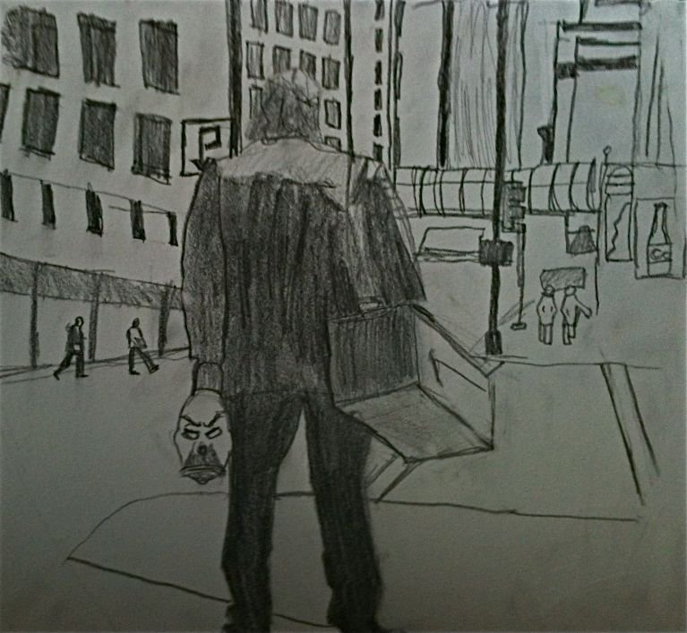 Art By Victor E The Joker Batman Dark Knight Pencil Sketch