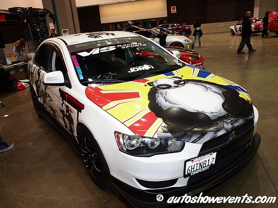Another itasha car from HIN La 2012.
