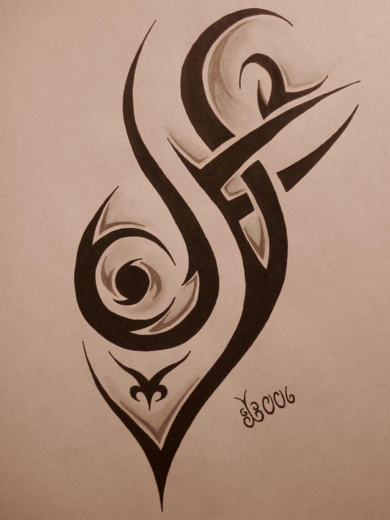 Tribal Tattoo Design 4 By Blackbutterfly006 On Deviantart Tribal Tattoos Tribal Art Tattoos Tribal Armband Tattoo
