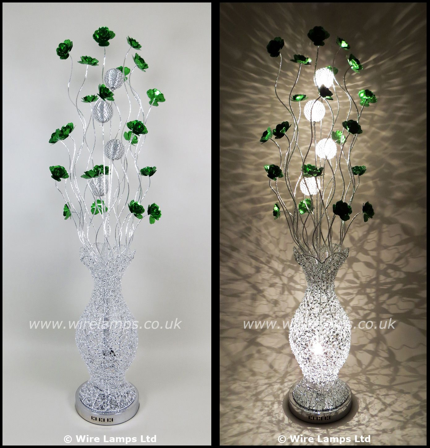 http://www.wirelamps.co.uk/WLF3069-6green.html Woven Wire and ...