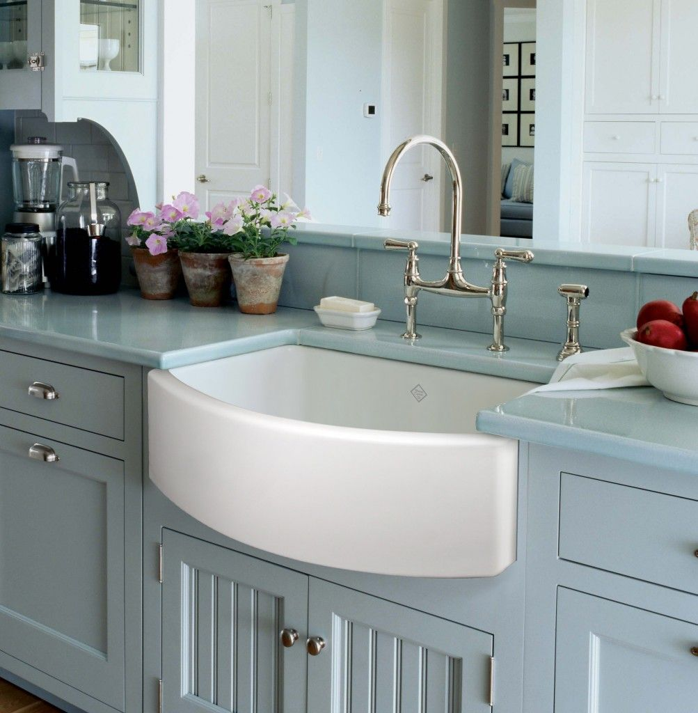 ROHL Shaws Original Waterside Apron Front Fireclay Kitchen Sink Wins ...