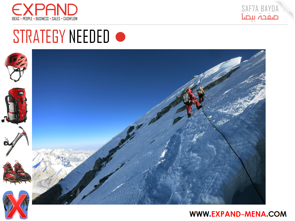"""Climbing the """"entrepreneurship Everest"""" requires the right tools and the adequate strategy. You surely can't get there without experts' assistance…Take off your  relaxing flip flops and let's shape your unique successful path."""