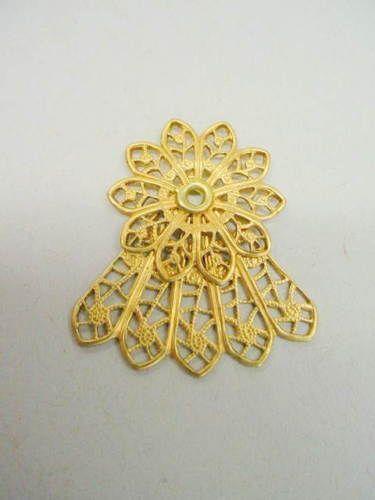 Filigree Angel Jewelry Stampings