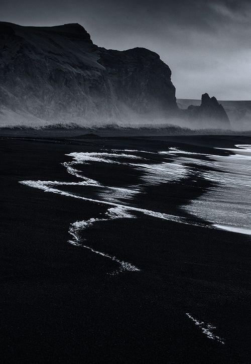 Black Sand Beach Vik Iceland Iceland Sea Beaches Icelandic Coast Ship Whale Beach White Photography Photography Landscape Photography