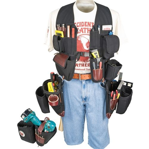 Builders' Vest Framer & Drill Combo Package