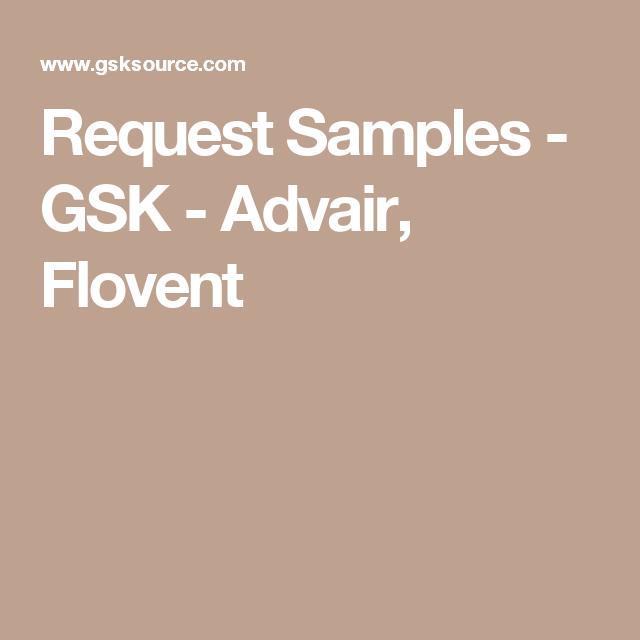Request Samples Gsk Advair Flovent Healthcare Professionals Health Care Sample