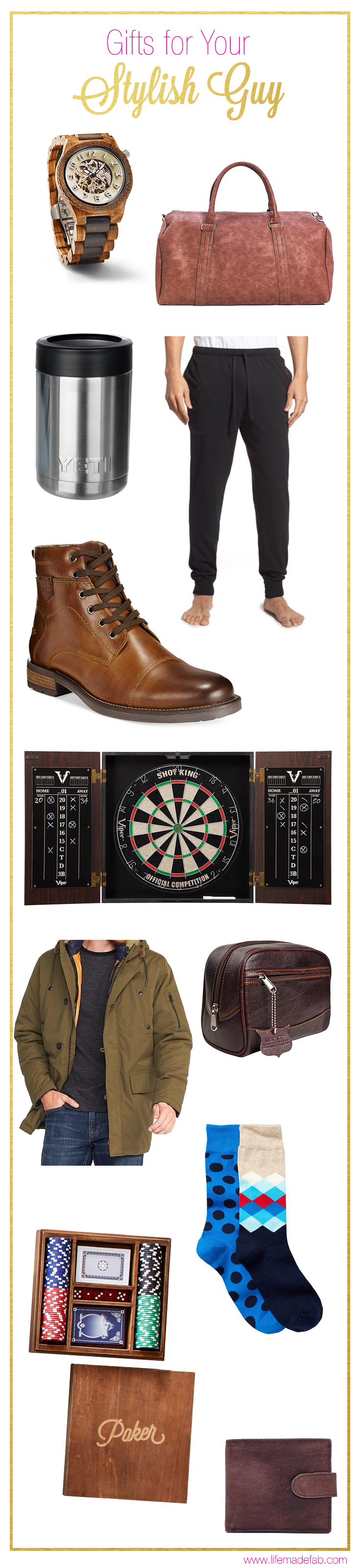 This Gift Guide Is Packed With Ideas For Your Guy Season Holiday Ping Gifts Him Husband