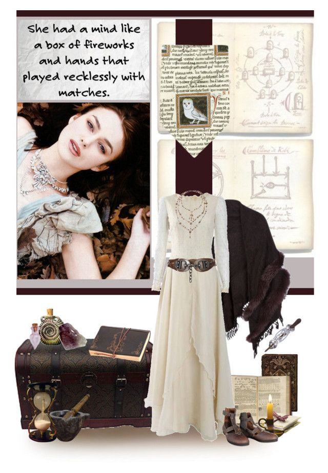 """""""Illusory"""" by savagedamsel ❤ liked on Polyvore featuring AllSaints, St. John, magic, characters, arthurianlegend, KOTRT and RPGs"""