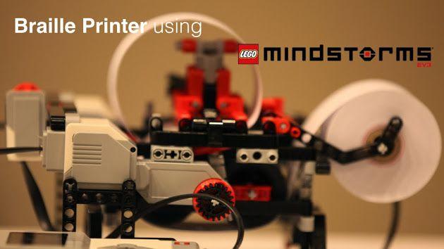 #Braigo: #stampante #braille costruita con i #lego da un ragazzo di 12 anni!  https://www.facebook.com/BraigoPrinter