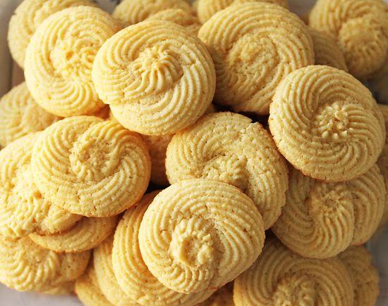 Twirly Lemon Cookies