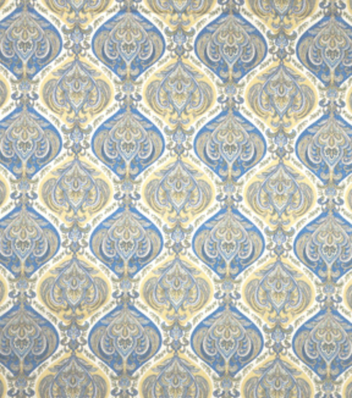 Home Decor Print Fabric-SMC Designs Lotus / Cornflower, , hi-res