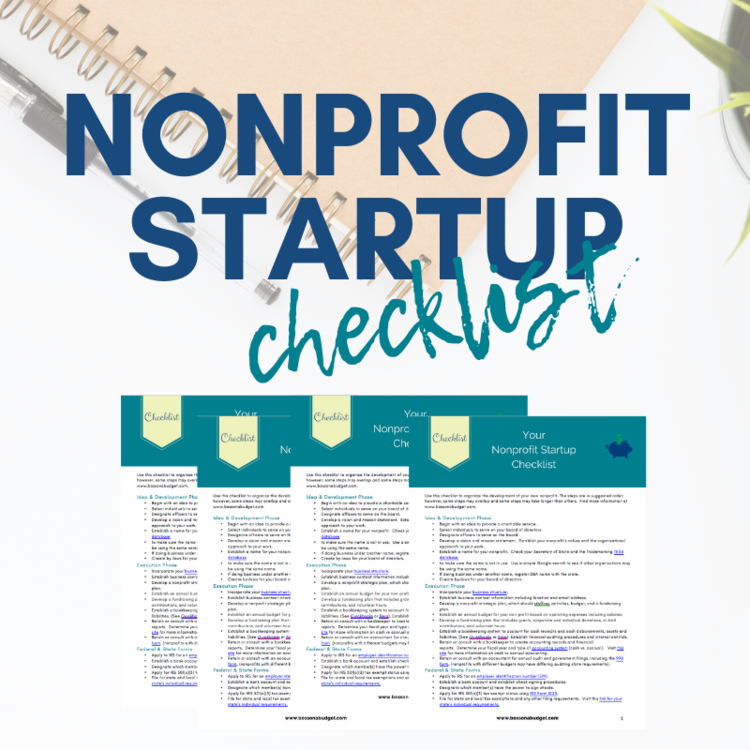 How To Start A Nonprofit 8 Steps A Startup Checklist Boss On A Budget Build A Strong Nonprofit In 2020 Nonprofit Startup Start A Non Profit How To Raise Money