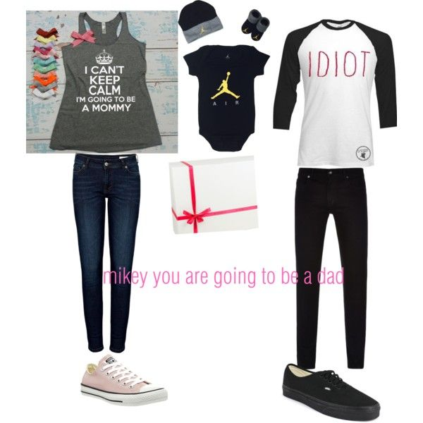 Untitled #74 by tristalayne on Polyvore featuring polyvore fashion style Anine Bing Converse Vans Native Youth