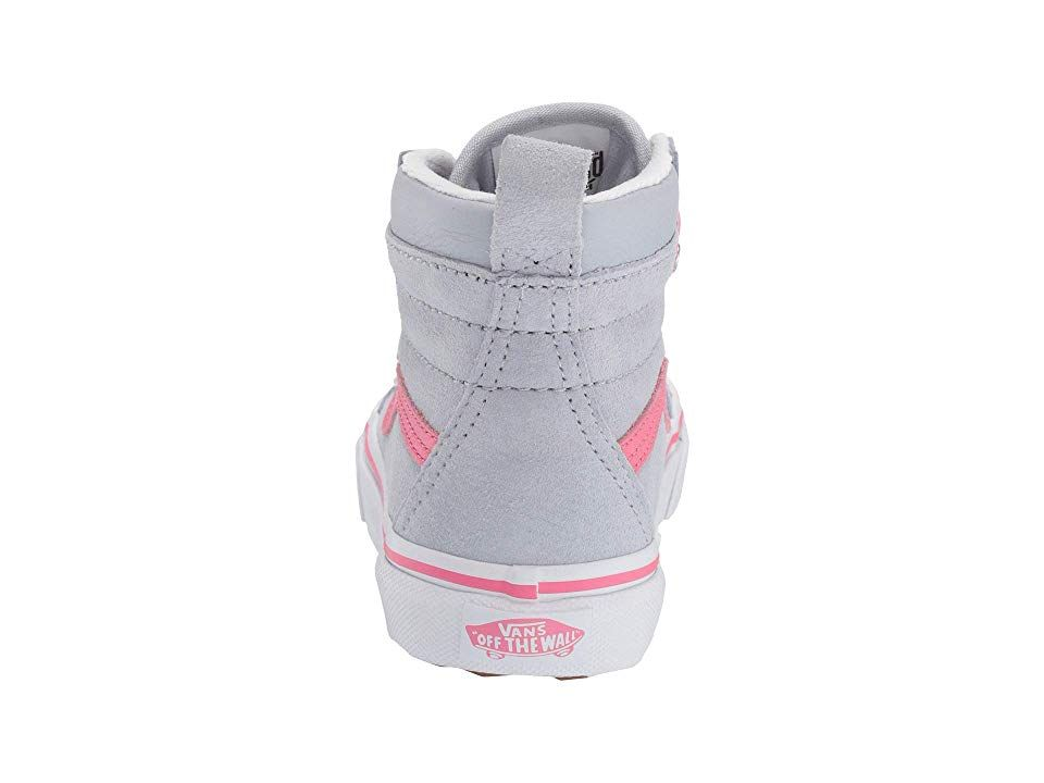 203a6e9a11b Vans Kids SK8-Hi MTE Boa (Little Kid Big Kid) Girls Shoes (MTE) Gray  Dawn Pink