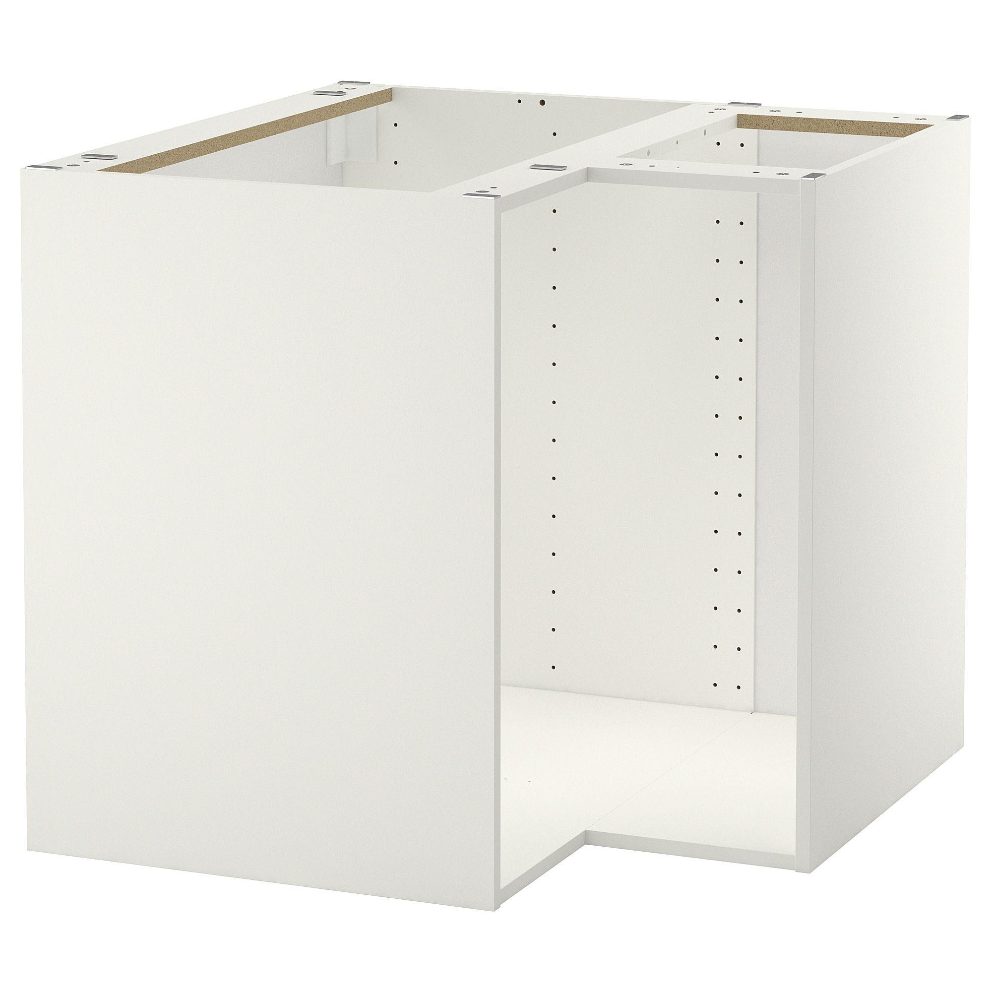 Metod Korpus Eckunterschrank Weiss Ikea Deutschland Eckunterschrank Ikea Unterschrank