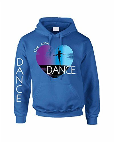 Allntrends Adult Hoodie Dance Art Purple Print Love Cute Top Nice Gift 2XL Royal Blue * Check this awesome product by going to the link at the image.