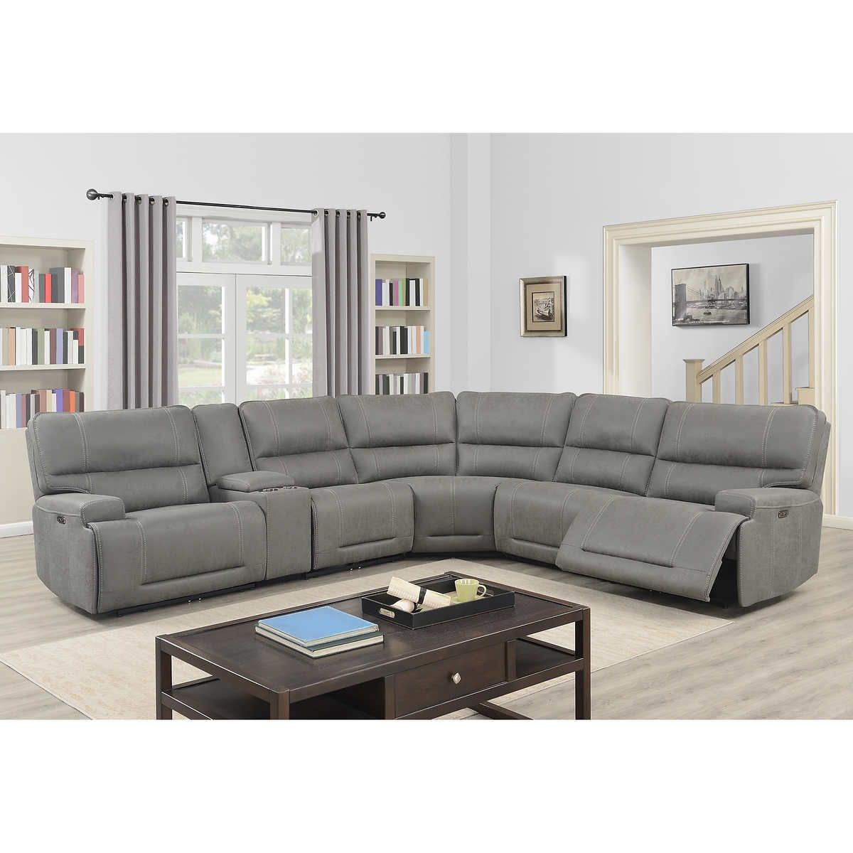 Pin By Melissia Buckhalter Honore On Home Renovations In 2020 Reclining Sectional Power Recliners Power Reclining Sectional Sofa