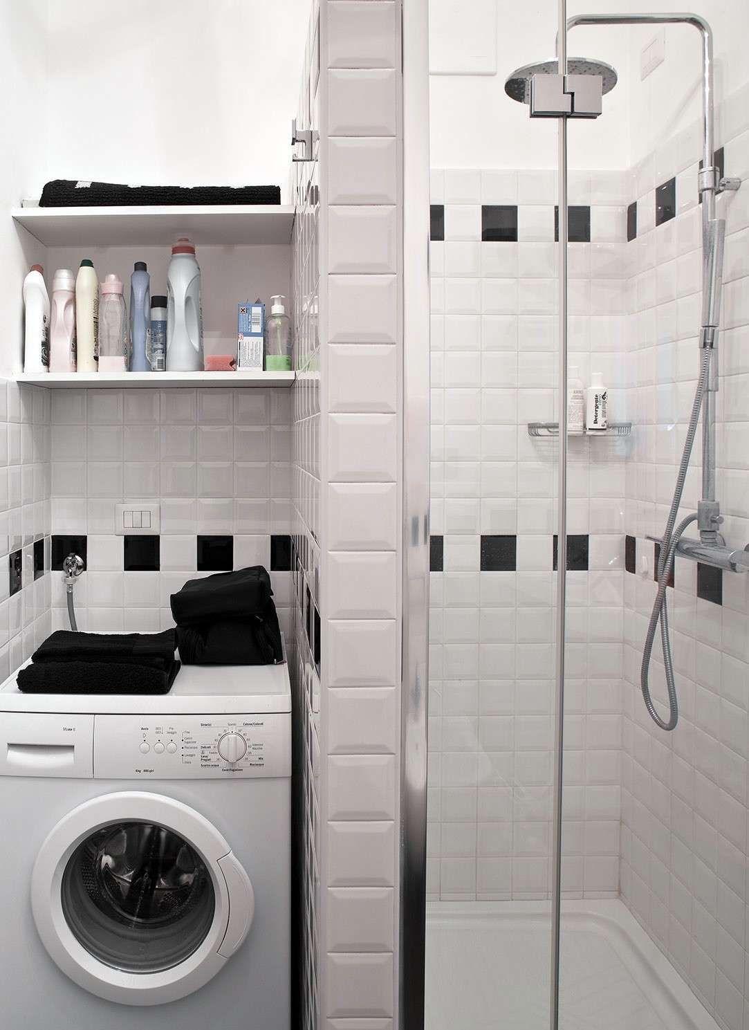 Bagno piccolo con lavatrice - Piccolo bagno con lavatrice | Bath ...