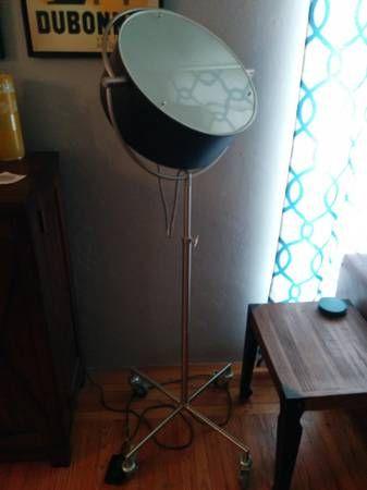 CB2 Beacon Floor Lamp - 1940s Inspired Spot Light | Living Room ...