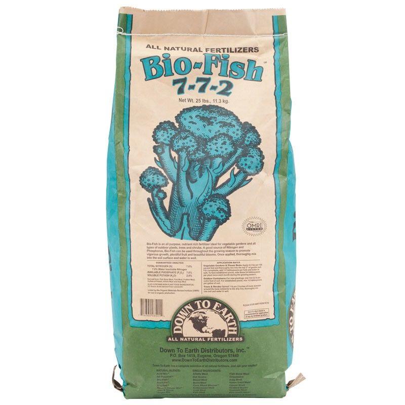 Bio Fish All Purpose 7 7 2 Fertilizer 25 Lb Outdoor 400 x 300