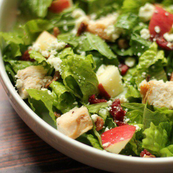Wendy's Copy Cat Apple Pecan Chicken Salad Recipe