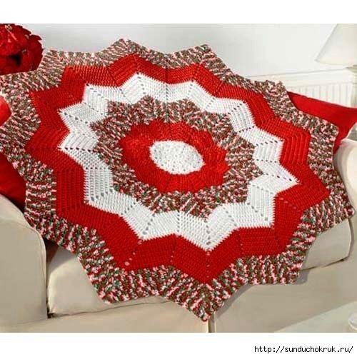 Crochet Star Rug Pattern Diagrams Pdf Crochet Rugs Pinterest