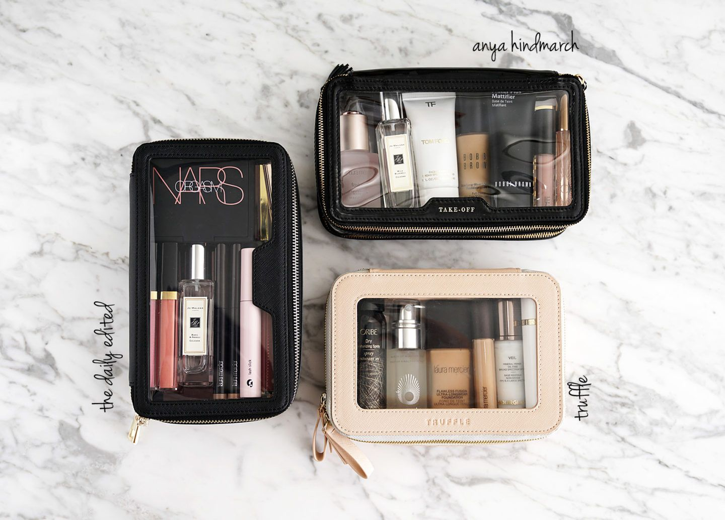 Best Chic Clear Makeup Bags from The Daily Edited, Anya
