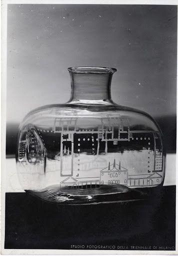 VII Triennale, vaso in vetro inciso, Mostra dei metalli e dei vetri - Google Arts & Culture