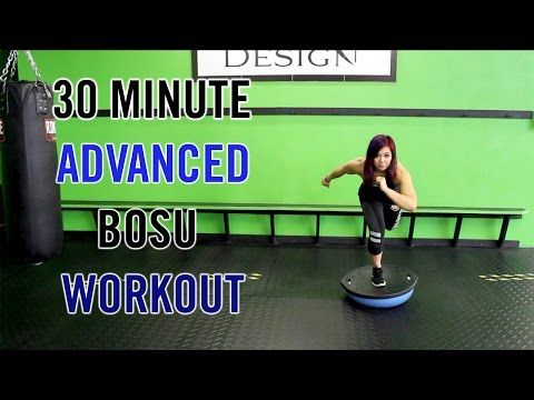 get ripped 10 bosu ball exercises that tighten and tone