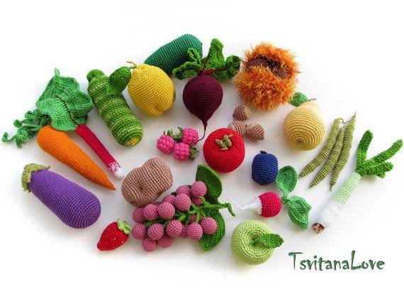 Gemüse Häkeln My Blog
