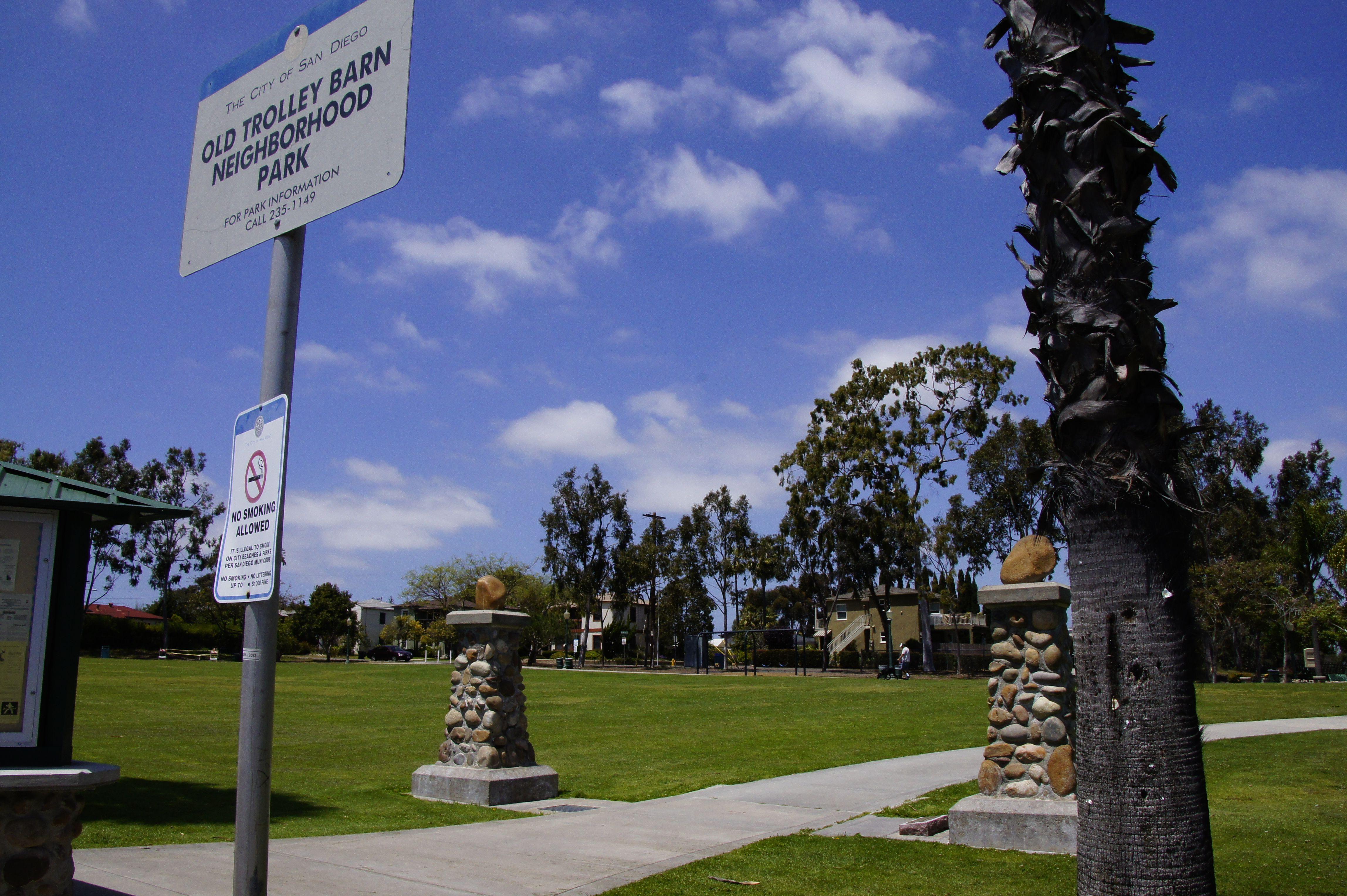 Old Trolley Barn Park On Adams Avenue In University Heights San Diego