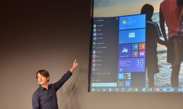 """O retorno de """"Menu Iniciar"""": Microsoft revela detalhes do Windows 10"""