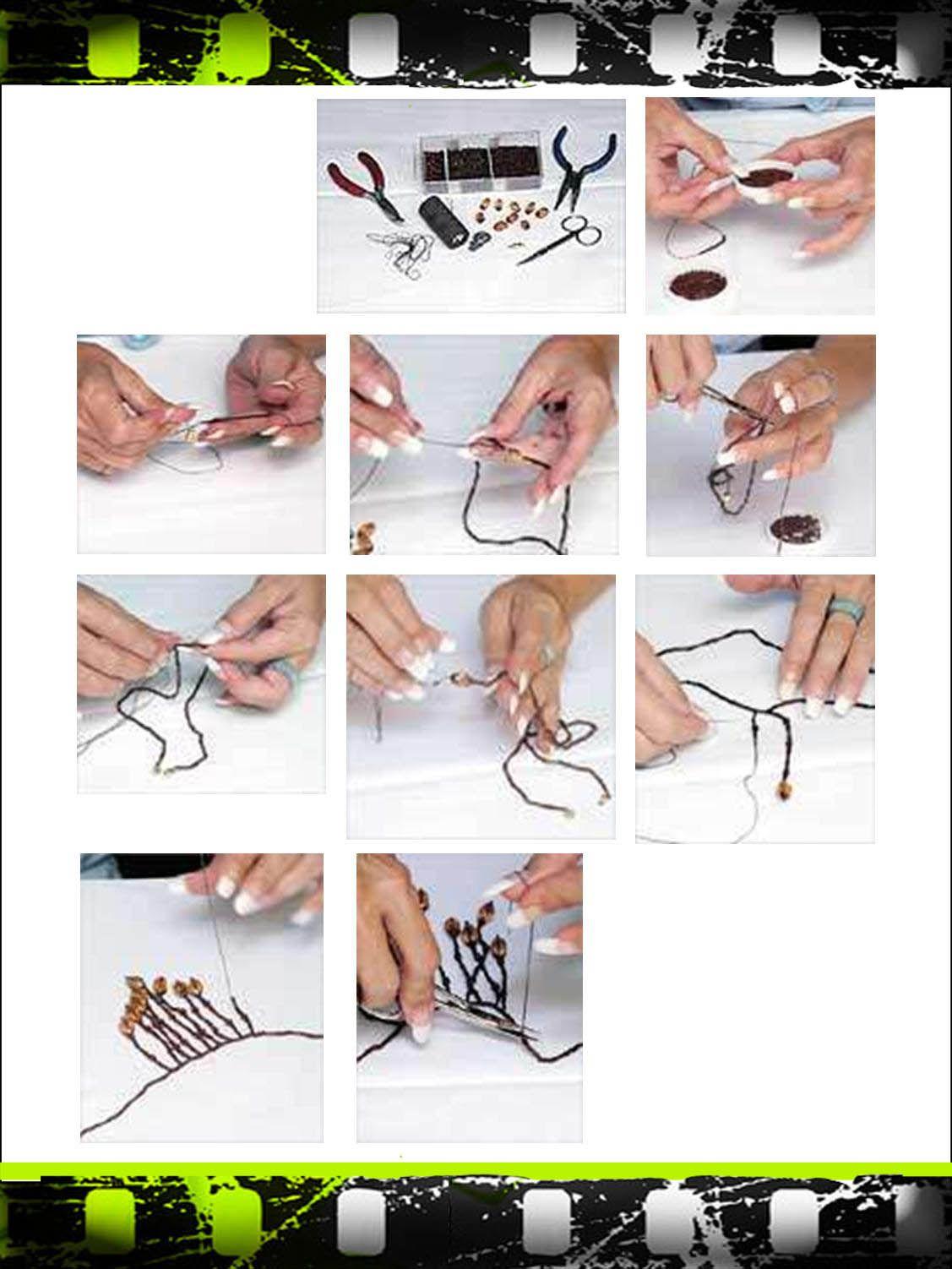 Elaboración de un collar paso a paso