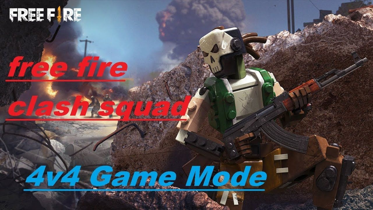 Clash Squad Free Fire Live Gameplay Gamer Sandhu 4v4 Game Mode In 2020 Gameplay Squad Fire Video