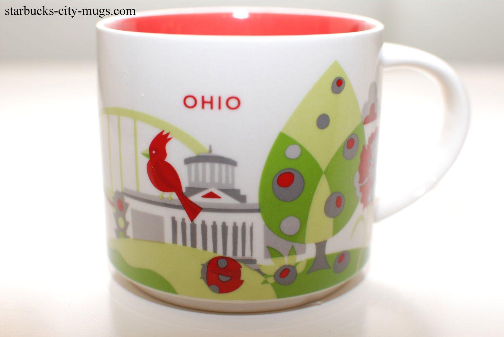 Ohio ornament starbucks city mugs starbucks mugs mugs