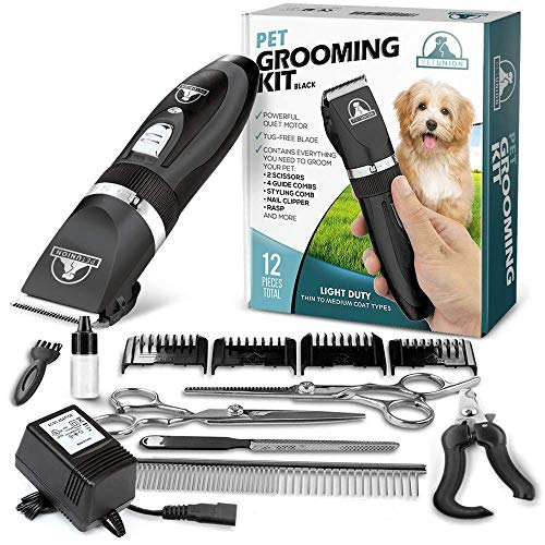 Pet Union Professional Dog Grooming Kit Rechargeable Cordless