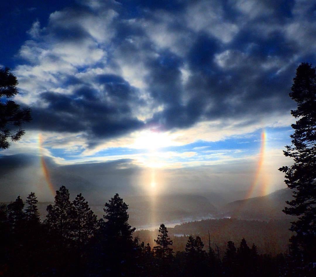 New Mexico solar halo