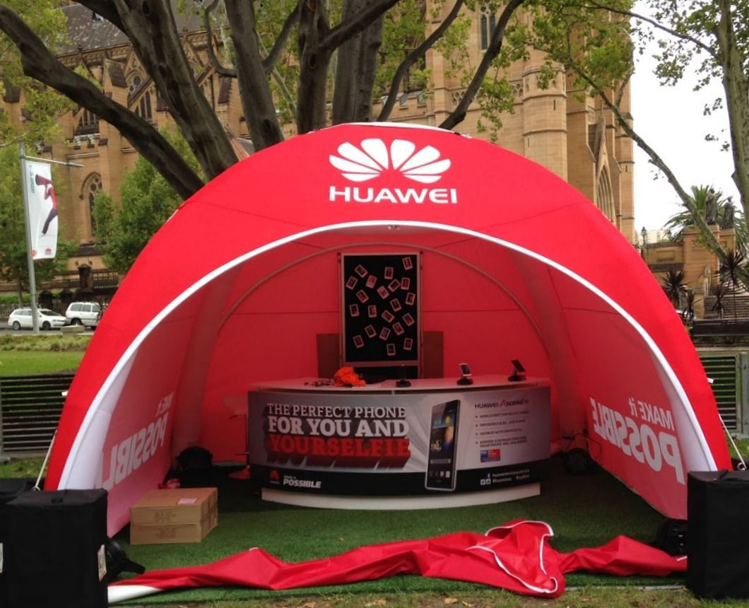 Huawei Activation Axion 4m Inflatable Tent For Sydney