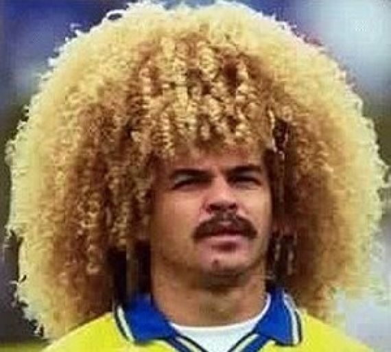 Chin Length Curly Blonde Hair On Men Soccer Hairstyles Long Blonde Curly Hair Big Hair Dont Care