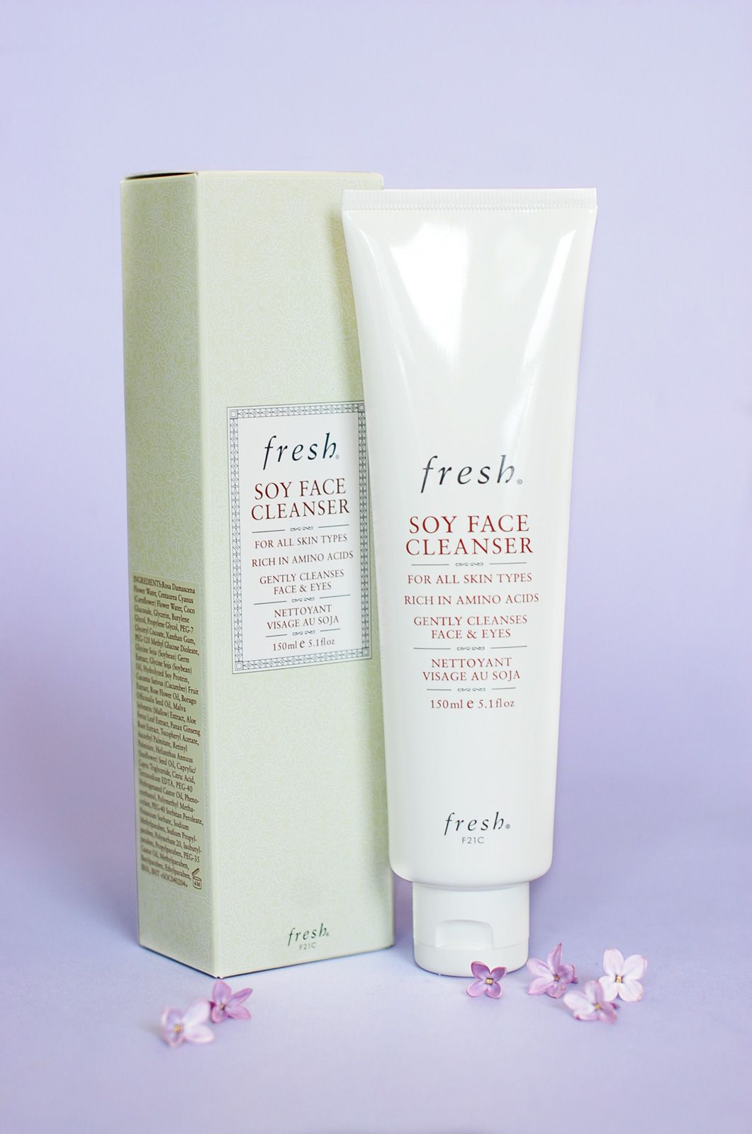 Fresh soy face cleanser u repin to win plus more goodies from