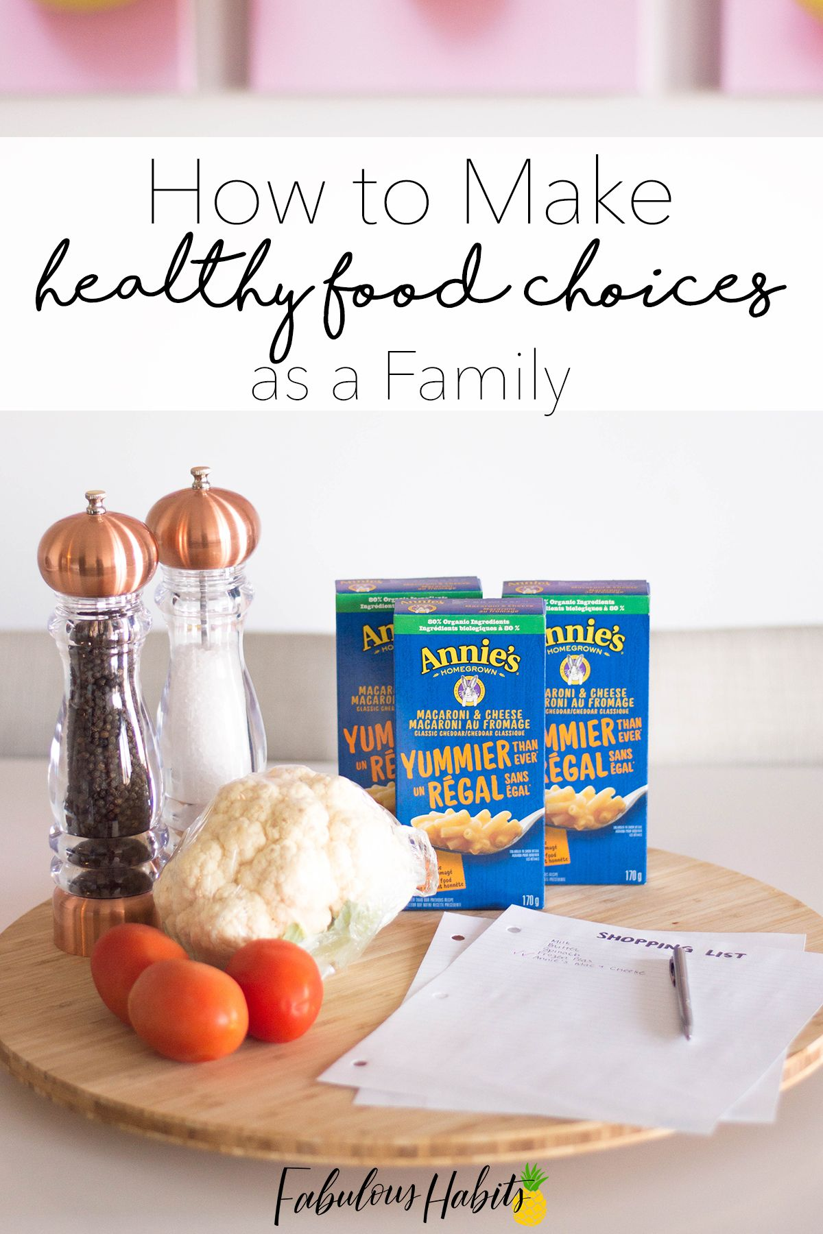 How To Make Healthy Food Choices As A Family