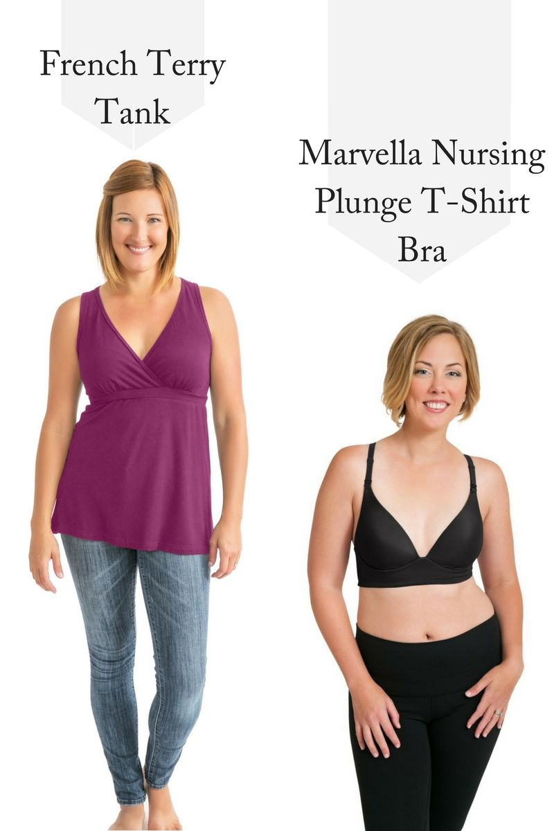 7dbad9777a553 Both are flattering and the Marvella Nursing and Maternity bra is wire free!  Kindred Bravely s ...