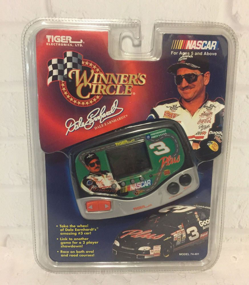 Dale Earnhardt Electronic LCD Handheld Racing Game Tiger