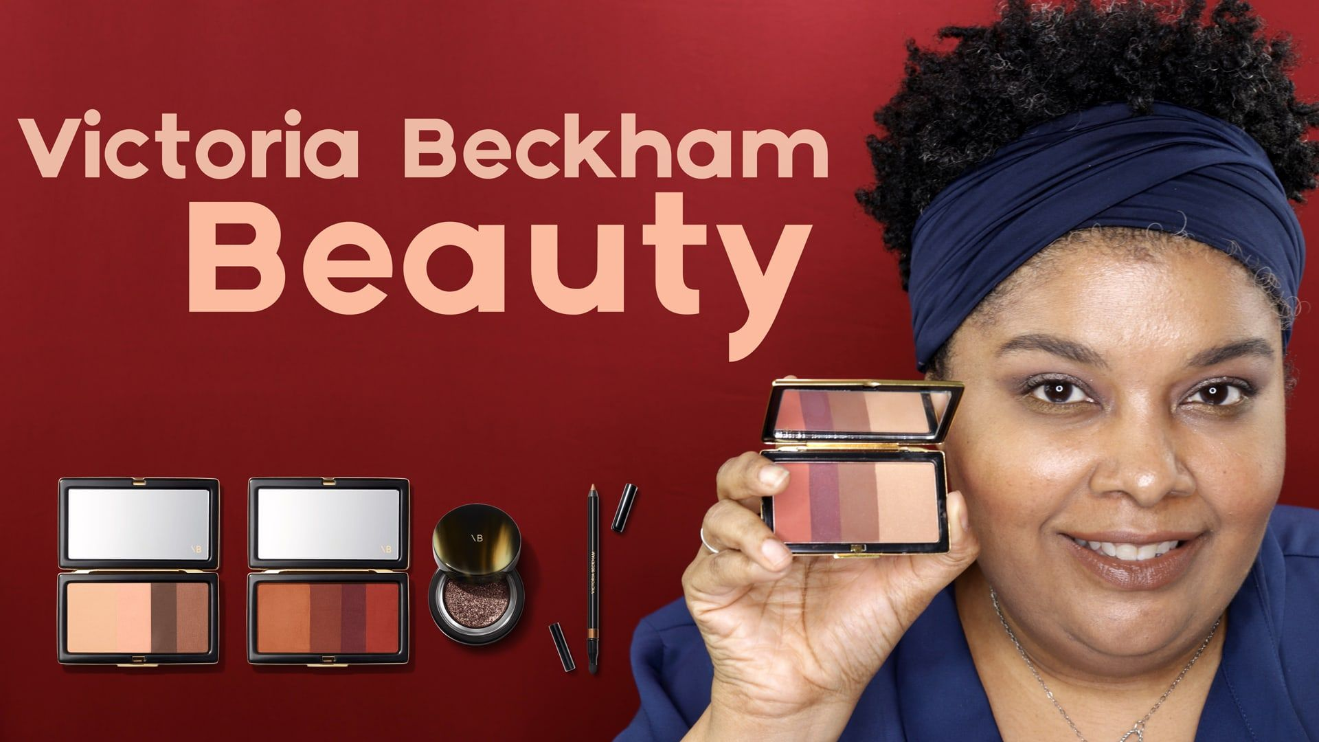 Victoria Beckham Beauty Makeup Review by Breezy Tee