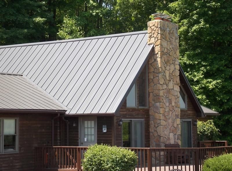 View pictures of the different residential metal roofing for Tin roof styles