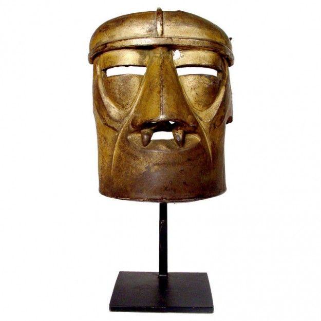 Radio Guy - 1920s Tin German Futuristic Movie Prop Robot Mask