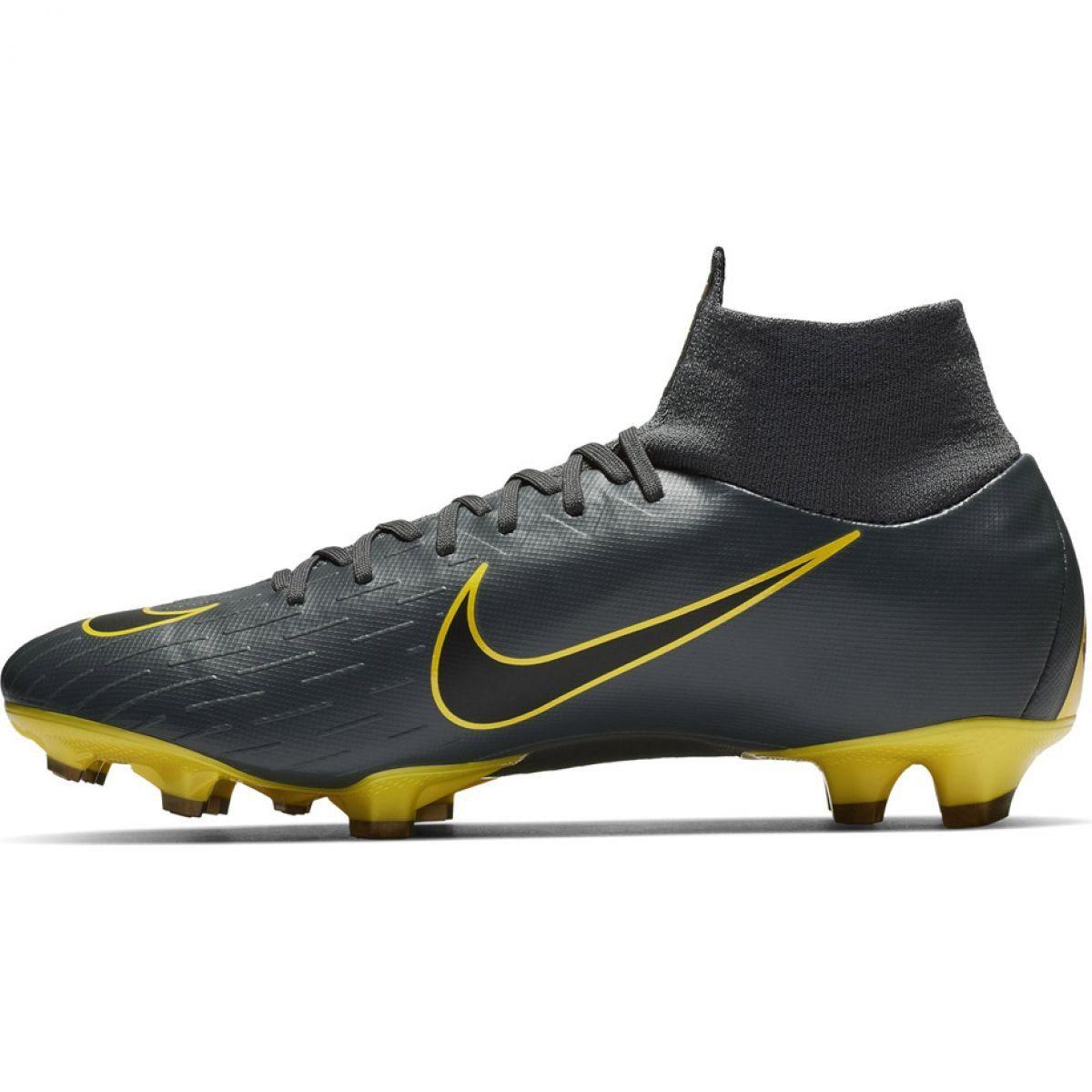 Korki Pilka Nozna Sport Nike Buty Pilkarskie Nike Mercurial Superfly 6 Pro Fg M Ah7368 070 Football Shoes Nike Superfly