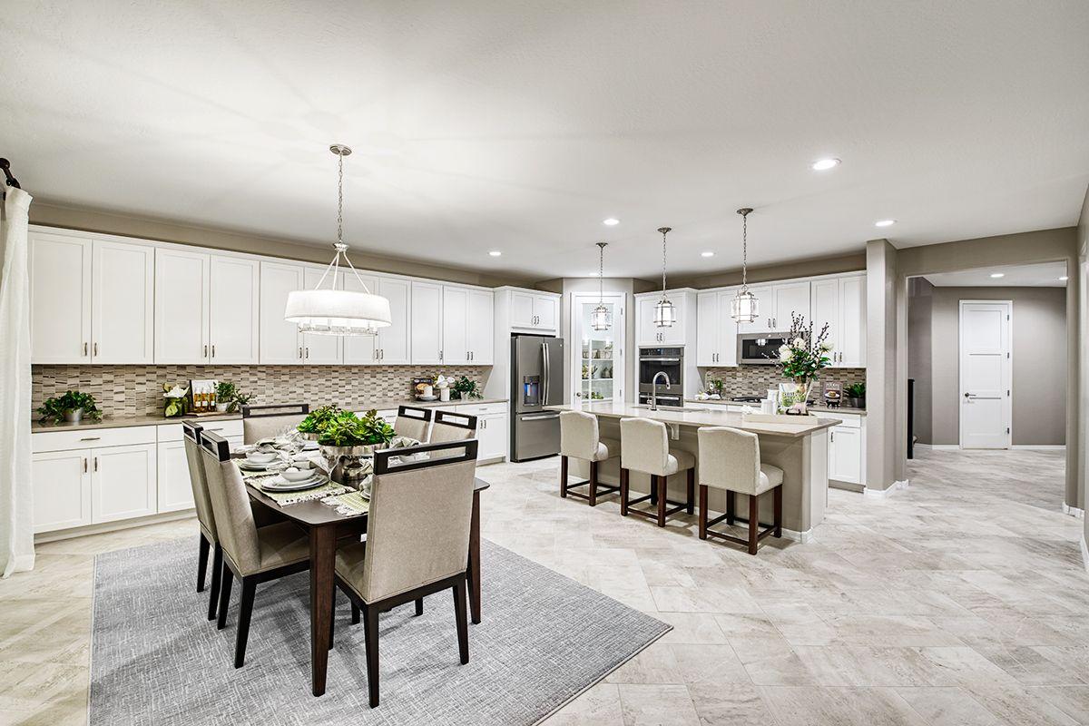 Abundant cabinetry! | Pearce model home nook & kitchen ... on Model Kitchen Design  id=28950