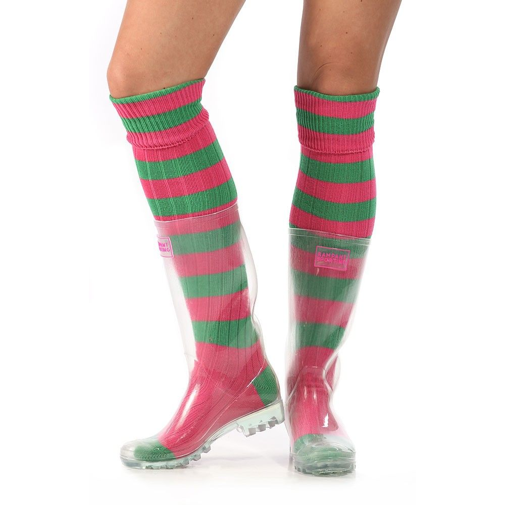 See Through Rampant Wellies from Rampant Sporting  @debbiemidsonbro as I can't find my old ones these look cool! Can change the look by wearing different socks!