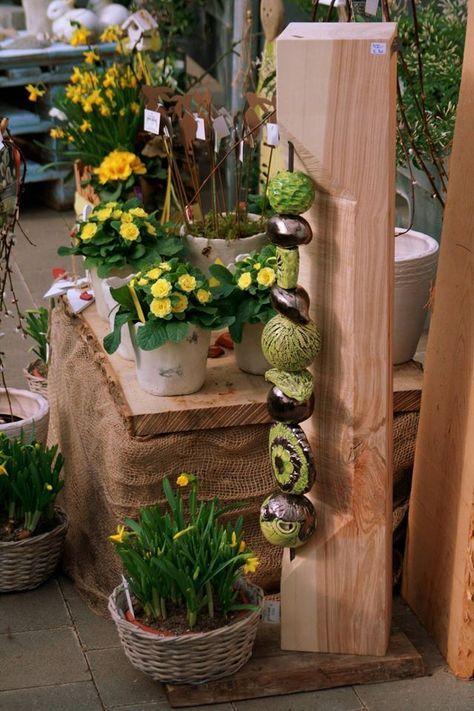 Stand Ideen, Machs, Keramik Töpfern, Keramik Ideen, Holzkunst, Gartenkunst,  Alternativ, Skulpturen, Holzarbeiten